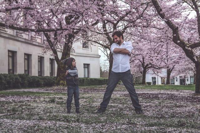 Баща и син - децата имат нужда от пример