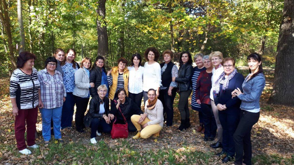 Снимка от тренинг с учители на тема Антистрес - психолог Аделина Филипова